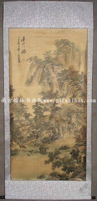 作品以大写意花鸟为主,擅长山水画和书法.